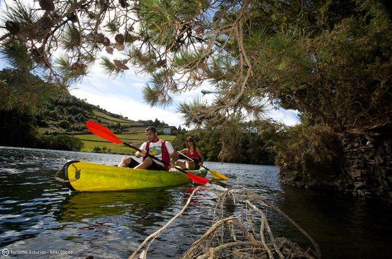 Reportaje sobre el río Navia con Kaly, Patricia y Ramón